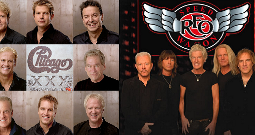 Win tickets to see Chicago and REO Speedwagon!