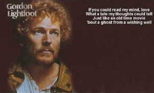 """Spin That 45 visits """"If You Could Read My Mind"""" by Gordon Lightfoot"""