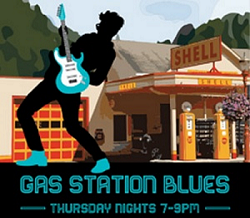Gas Station Blues Every Thursday Night – Downtown Issaqua