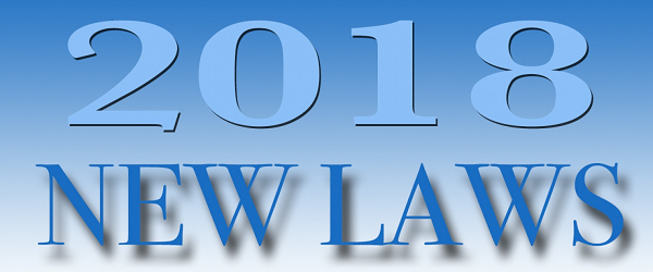 2018 New laws & changes for Washington State